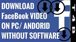 3 Easy Ways To Download Facebook Videos Online  on Android | PC | Without  Any Software