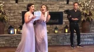 Best wedding toast ever!!