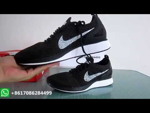 94bc0ad9158 REVIEW Nike Air Zoom Mariah Flyknit Racer black - YouTube