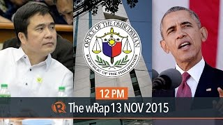 Laglag-bala probe, misused funds, South China Sea case | 12PM wRap