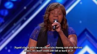 [Eng-Vietsub] Kechi: khâm phục cô gái bị bỏng toàn thân có giọng hát tuyệt đẹp: America's Got Talent