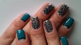 Красивый дизайн ногтей для начинающих Весна 2017. How to Paint your Nails at Home 2017