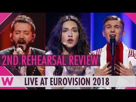 Second Rehearsals: Azerbaijan, Albania, Iceland @ Eurovision 2018 (Review) | wiwibloggs