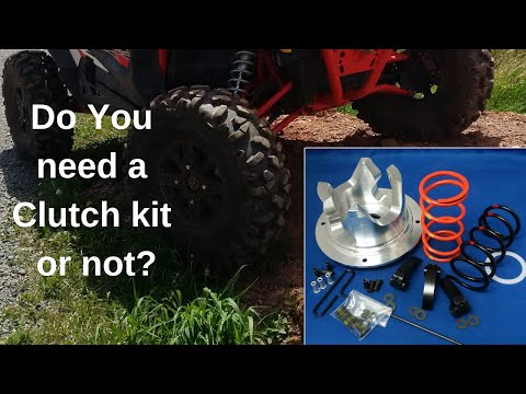 Does your Polaris RZR/General/Ranger need a Clutch Kit??