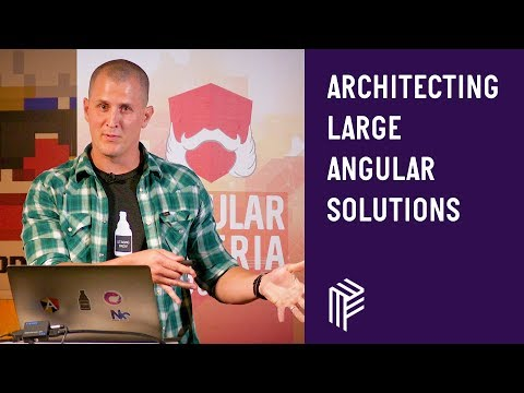 Thumbnail for Angular Vienna, Architecting large angular solutions, May 2019