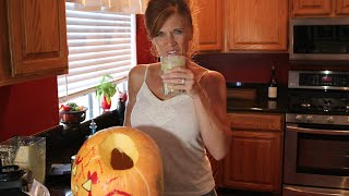 How To Make A Green Pumpkin Pie Smoothie