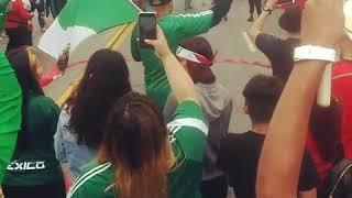 """La Chona"" Mexico vs. South Korea 2-1"