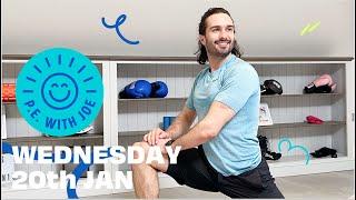 PE With Joe 2021   Wednesday 20th Jan
