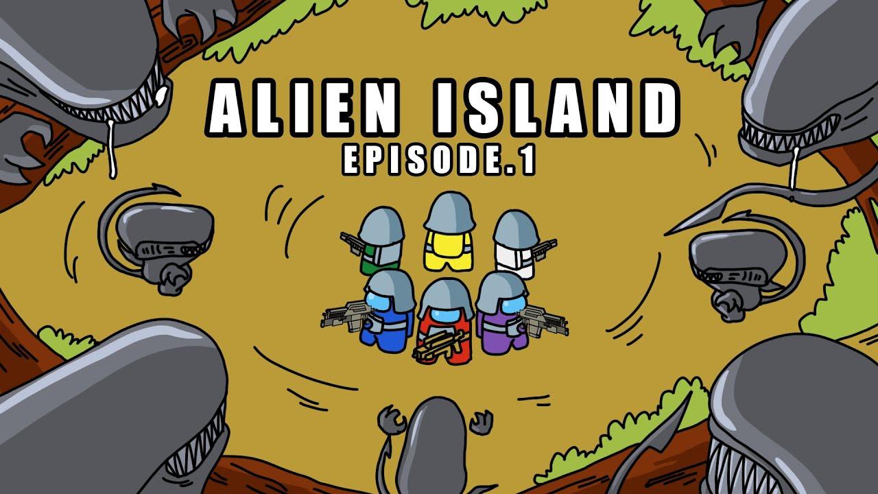 Among Us ALIEN ISLAND Ep.1 | Among Us Animation