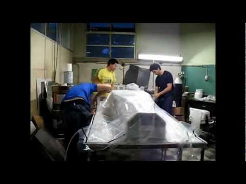 Projecto FST Novabase - Manufacturing of the monocoque molds