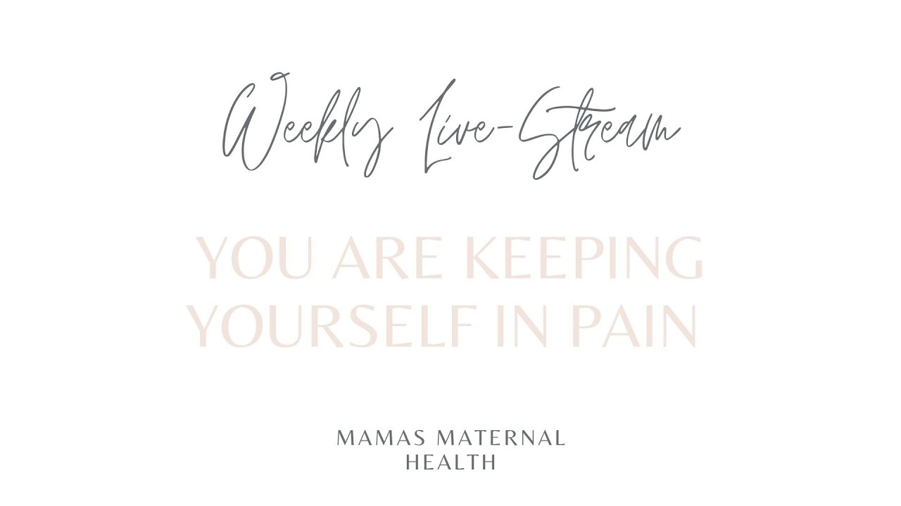 Are you keeping yourself in pain with your autoimmune pregnancy?