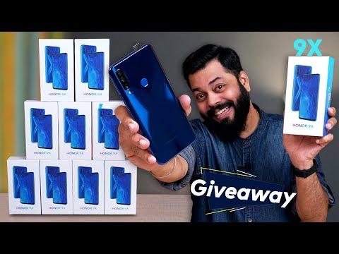 Honor 9X Unboxing & First Impressions ⚡⚡⚡ Cheapest Pop-up Camera Smartphone? 9X SURPRISE