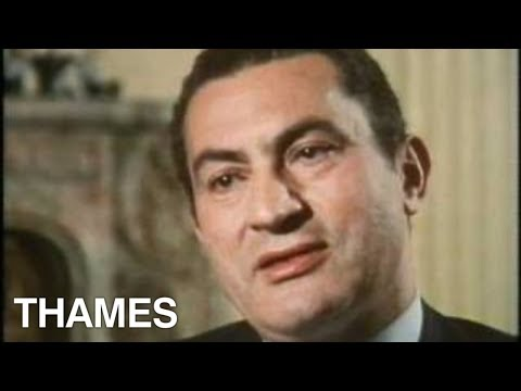Egypt - Hosni Mubarak interview - TV Eye