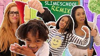 Slime School Teacher vs Best Teacher!  -  New Toy School