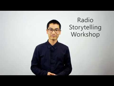 Radio Storytelling Workshop with Pascal Huỳnh at Surplace Montreal
