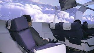 Как японцы путешествуют по миру в ресторане-самолёте