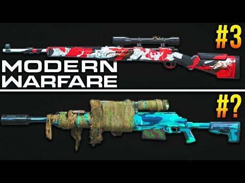 Modern Warfare: RANKING Every Sniper & Marksman Rifle (Best Class Setups) from YouTube · Duration:  10 minutes 42 seconds