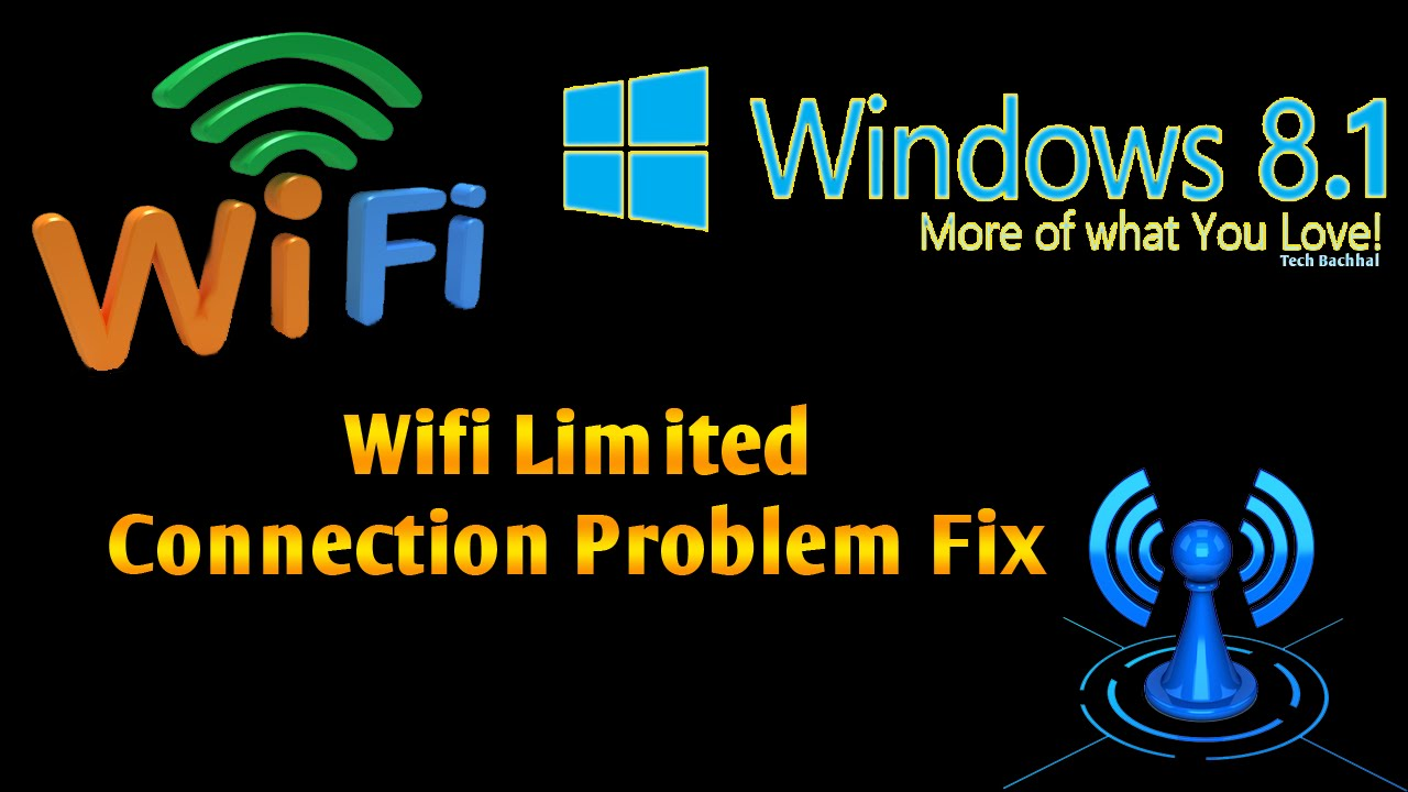 Windows 81 wifi limited connection problem fix 4 ways youtube sciox Image collections