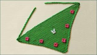 Косынка крючком. Вязание косынки. Панамка крючком. Вязание крючком. (Kerchief. Panama)