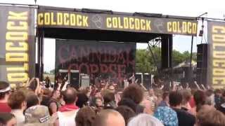 Cannibal Corpse Stripped,Raped and Strangled live at Mayhem Fest 2014 July 19