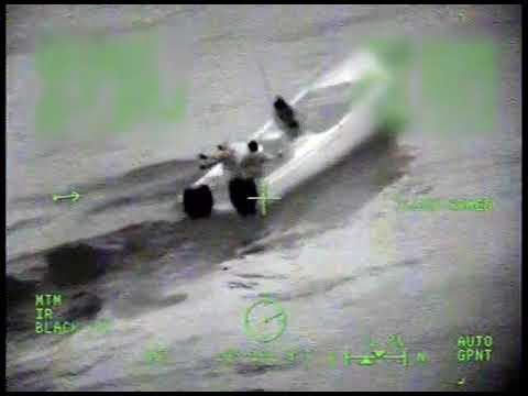 Coast Guard Cutter Hamilton boarding teams interdict suspected drug smuggling vessel, Pacific Ocean