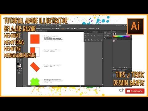 Adobe Illustrator - Tutorial Belajar Desain Grafis - Belajar Dasar #1 thumbnail