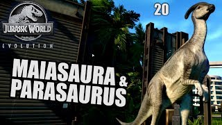 Jurassic World Evolution Deutsch #20 ► Parasaurus ◄| Let's Play Gameplay German