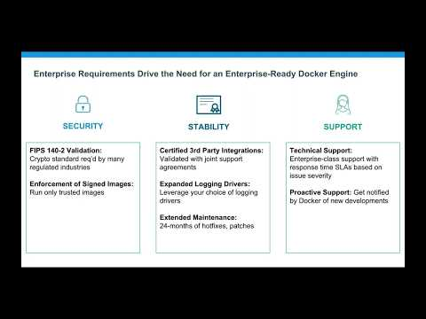 Building a Secure Foundation for Your Containers with Docker Engine   Enterprise
