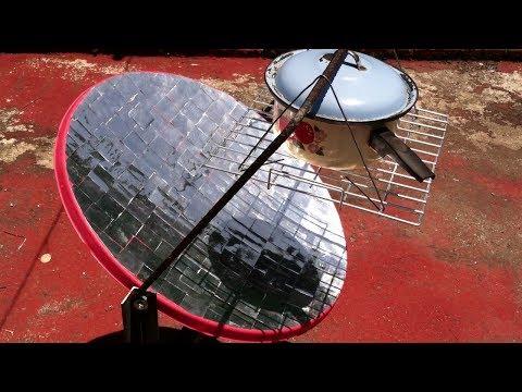 Cocina solar con