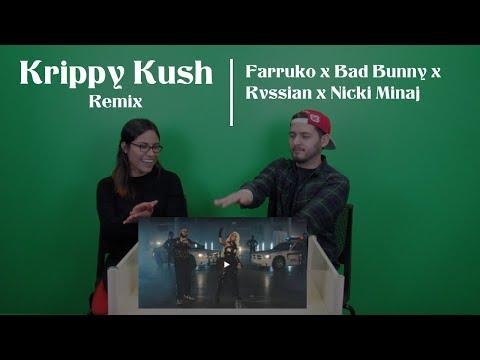 Krippy Kush Remix Music Video (Reaction) | Farruko, Bad Bunny, Rvssian, Nicki Minaj
