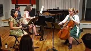 Brahms Clarinet Trio Op. 114, Mvt. III Andantino Grazioso