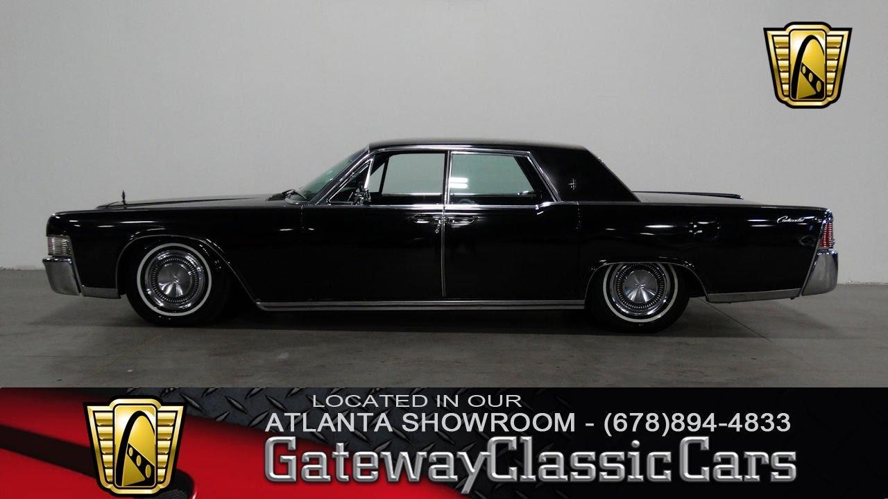 1965 Lincoln Continental - Gateway Classic Cars of Atlanta #284 ...