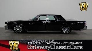 1965 Lincoln Continental - Gateway Classic Cars of Atlanta #284