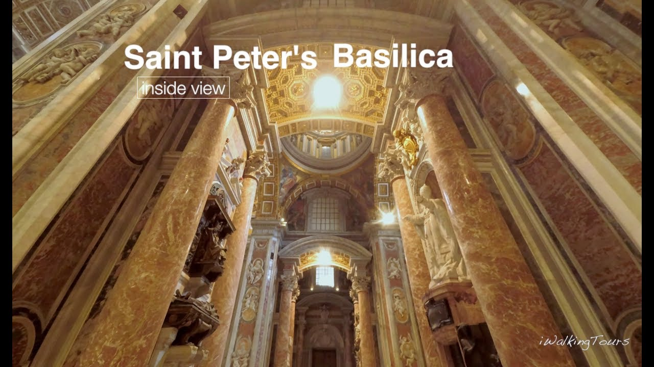 St Peters Basilica Self Guided Tour & Map - Travel With