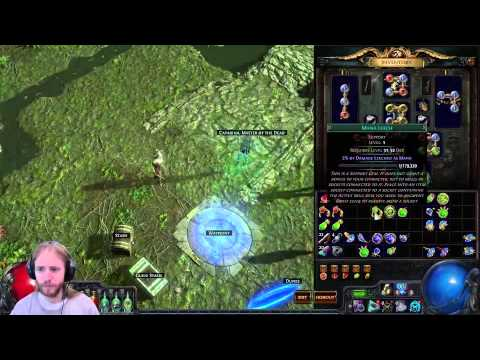 Cast On Channeling Poe Build