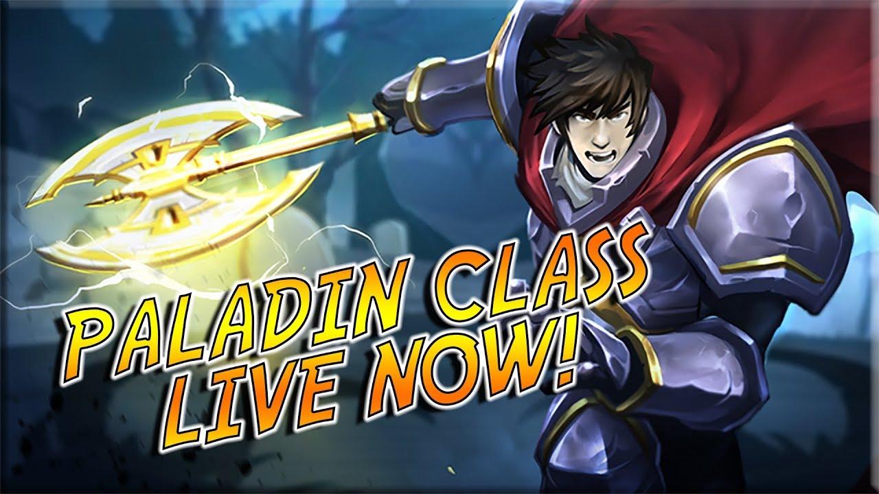 AQ3D Paladin Class Now LIVE! Paladin Class Breakdown & Battle Video!