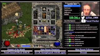 Diablo 2 Hell Necro any% Speedrun 8:42:03