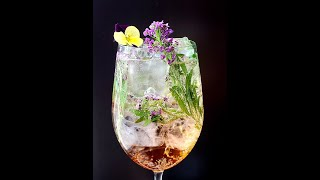 How to make a Japanese Spritz cocktail