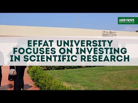 Effat University focuses on investing in scientific research