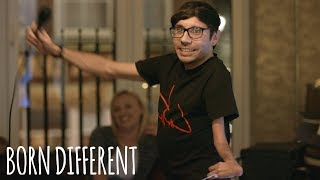 Comedian With Scoliosis Laughs Off Condition | BORN DIFFERENT
