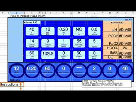 Ventilator Management of the Head Injury - YouTube