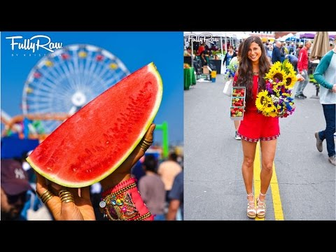 What I Ate Today in Los Angeles (Vegan) + Farmer's Market Haul!
