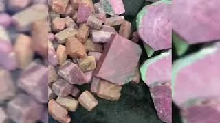 Đá thô ruby và sản phẩm