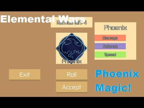 roblox elemental wars all codes