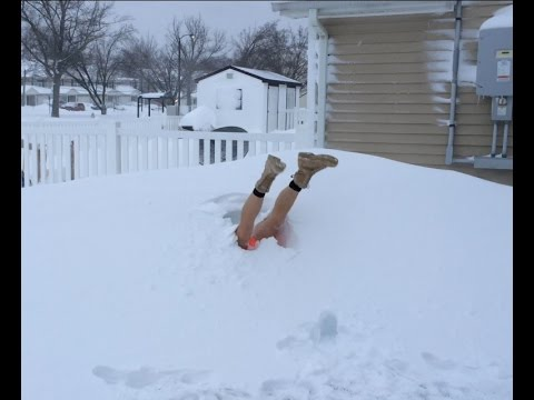 funny snow dive youtube