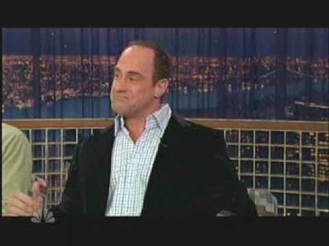 chris meloni on conan o'brien 2007