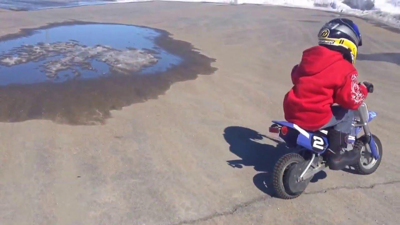motocross 7 ans