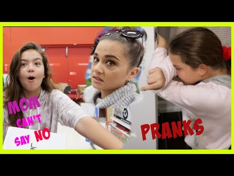 MOM CAN'T SAY NO TO SICK DAUGHTER / WE PRANKED  EMILY | SISTER FOREVER