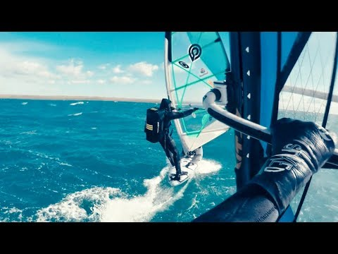 EXTREME WINDSURF FROM PACIFIC OCEAN TO ATLANTIC OCEAN WITH SUBTECH BAG