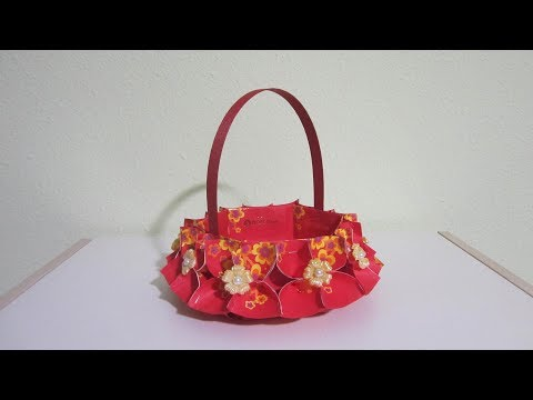 CNY TUTORIAL NO. 72 -  Hongbao Candy Basket